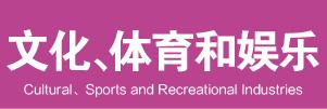 文化、体育和娱乐业