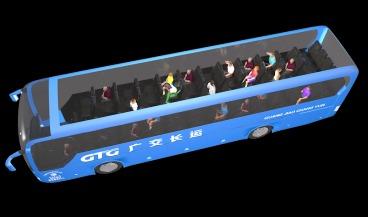 客运车安全带提醒系统